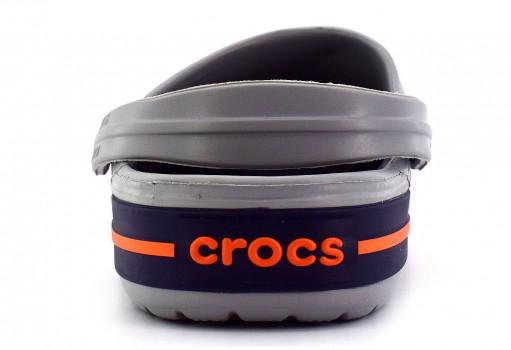 CROCS 11016 -01U GREY/NAVY CROCBAND  23.0 - 31.0