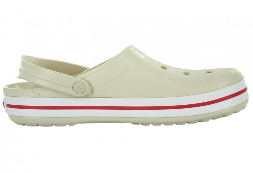 CROCS 11016 -1AS STUCCO/MELON CROCBAND  22-31