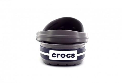 CROCS 204537 05H SMOKE/NAVY CROCBAND KIDS  11-23