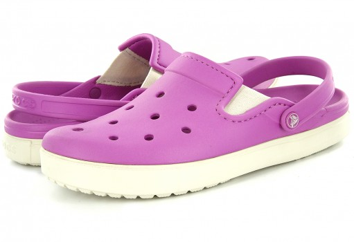 CROCS CITY SNEAKS CLOG WILD ORCHID  22.5-26.5