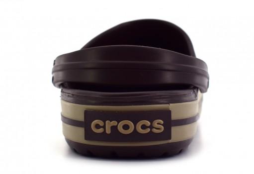 CROCS 11016 CROCBA ND ESPRESSO-KHAKI CROCBAND  23.0 - 31.0