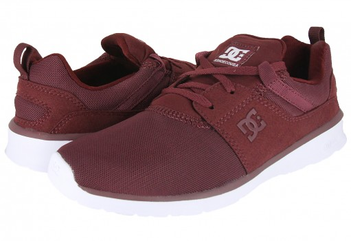 DC SHOES ADJS 700021 BUR BURGUNDY HEATHROW  22-27
