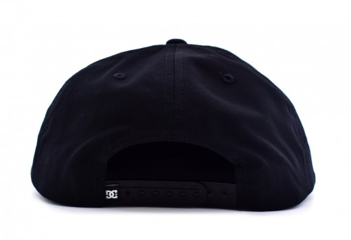 DC SHOES ADYH A03575 KVJ0 BLACK SNAPPY  HDWR  UNICA