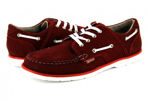 ELEFANTE 7317- 003 NUBUCK ROJO LONDON  (17.5 - 21.0)