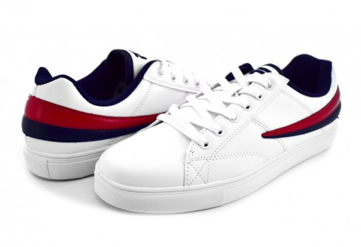 FILA 1CM 00119 125 WHITE/NAVY/RED SMOKESCREEN LOW  25.0 - 31