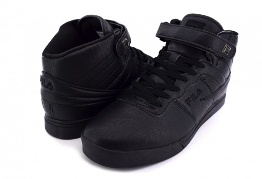 FILA 1CM 00231 001 TRIPLE BLACK VULC 13 MP DISTRESS  24.5 - 31