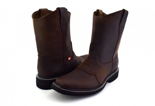 ISRAEL BOOTS 4000 -C CRAZY CAFE/CAFE PATRIOT  25-30