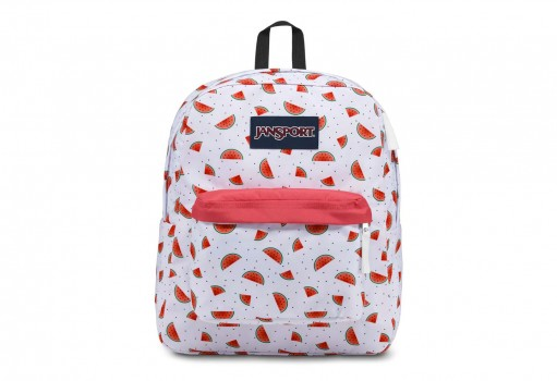 JANSPORT JS00T 50148K WATERMELON RAIN SUPERBREAK  UNICA