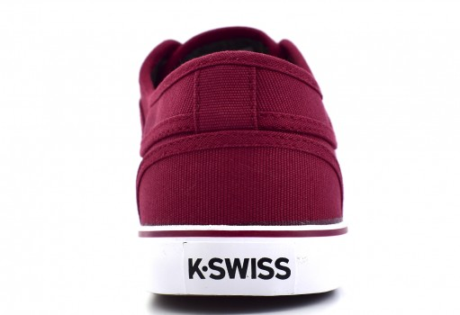 K-SWISS 0F025 592 WINE/WHITE FOREST  25-31