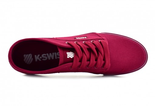 K-SWISS 0F025 627 BURGUNDY MONOCHROME FOREST  25-31