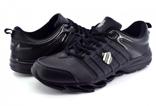 K-SWISS 0F026 001 BLACK/BLACK BRIDGE  25-30