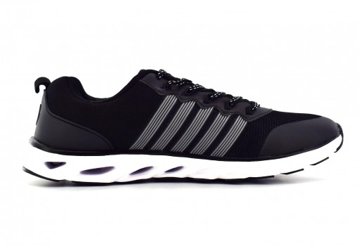 K-SWISS 0F128 013 BLACK SILVER DESTROY  25-30