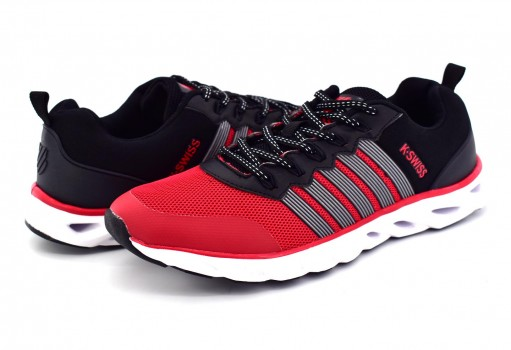 K-SWISS 0F128 610 RED/BLACK DESTROY  25-30