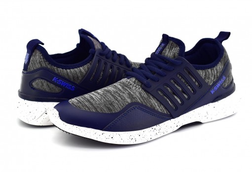 K-SWISS 0F144 435 NAVY/GREY COUGAR  25-30