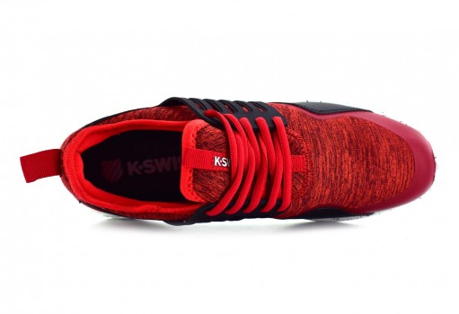 K-SWISS 0F144 592 BURGUNDY/BLACK COUGAR  25-30