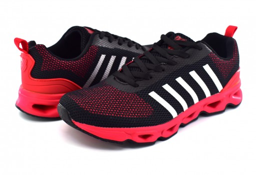 K-SWISS 0F165 610 RED/BLACK SKY  25-31