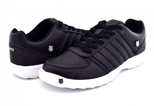K-SWISS 0F170 002 BLACK WHITE MILLER  25-31