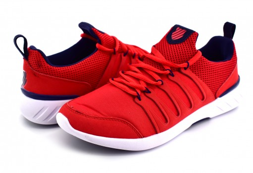 K-SWISS 0F200 600 RED/WHITE SCARLET  25 30