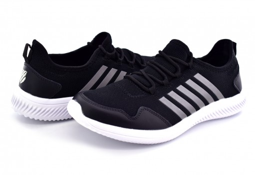 K-SWISS 0F223 013 BLACK SILVER RICE  25 30