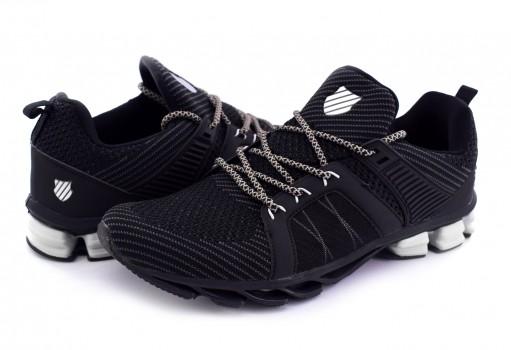 K-SWISS 0F289 002 BLACK SILVER STRAXUS  25 30