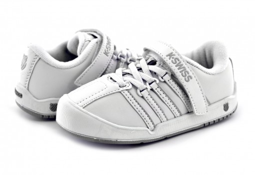 K-SWISS 21548 101 WHITE/SILVER ONTARE VLC  11 - 16