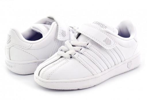 K-SWISS 23446 101 WHITE/WHITE CLASSIC VN  11 - 16