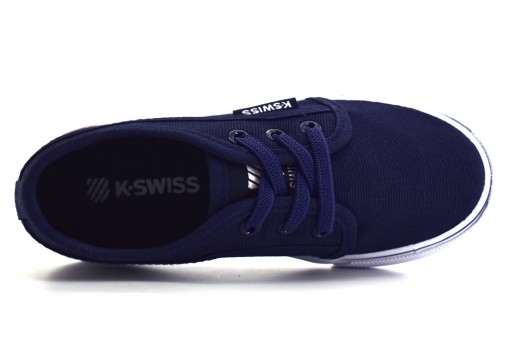 K-SWISS 2F025 402 NAVY FOREST KIDS  11-18