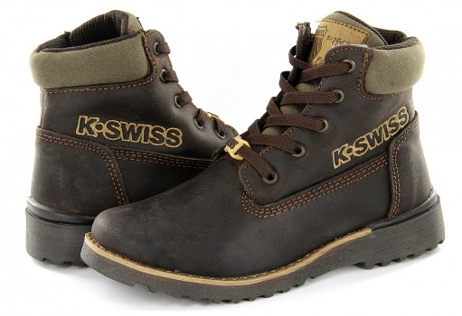 K-SWISS 50148 204 CHOCOLATE HIKER BOOT  17-22