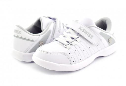 K-SWISS 52416 101 WHITE DARWELL  17-22