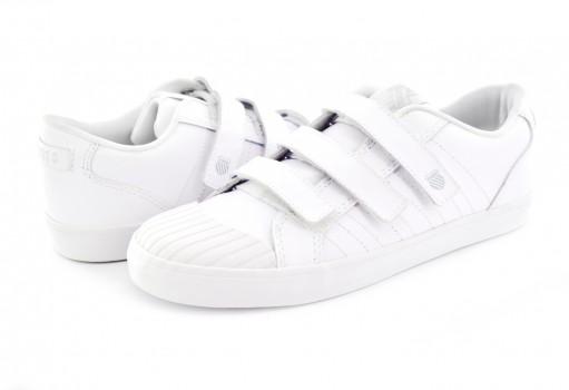 K-SWISS 52603 101 WHITE/WHITE ROMALIS  17-22