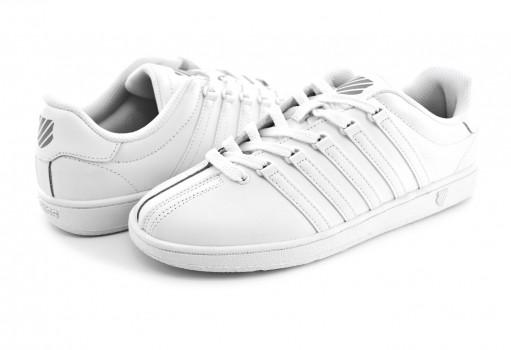 K-SWISS 83343 101 WHITE/WHITE CLASSIC VIN  23-25.5