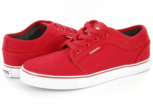 K-SWISS 8F025 600 RED FOREST KIDS  22.0-26.5