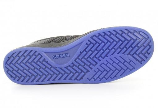 K-SWISS 95063 017 BLACK/BLACK/ELECTRIC BLUE COURT PRO II SP CMF  23-27