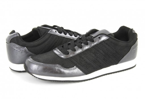 K-SWISS 95115 002 BLACK/WHITE NEW HAVEN SNAKE CMF  23-27