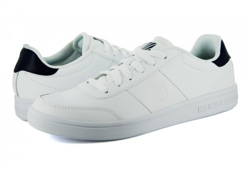 K-SWISS 95587 109 WHITE NAVY BULL EYE SHIELD  22-27