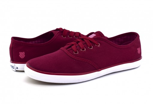 K-SWISS 9F033 627 BURGUNDY BEVERLY  22-27