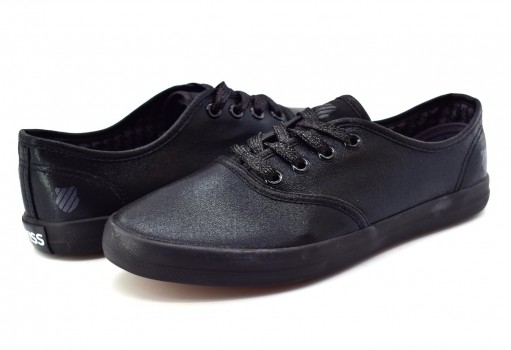 K-SWISS 9F055 001 BLACK MONOCHROME BEVERLY  22-27