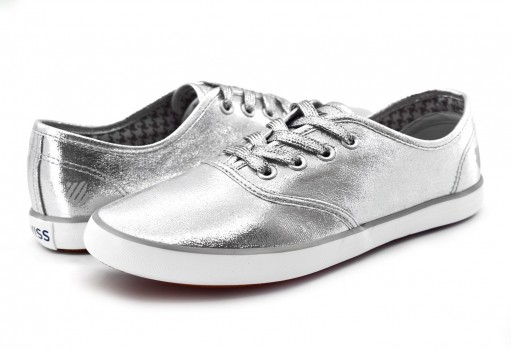 K-SWISS 9F055 086 SILVER/WHITE BEVERLY  23-27