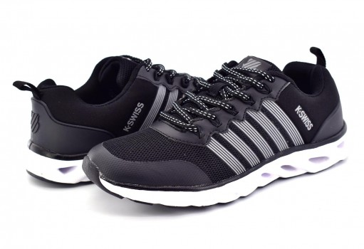 K-SWISS 9F128 002 BLACK SILVER DESTROY  22-27