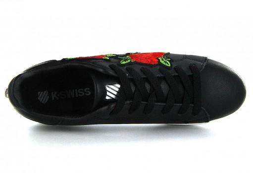 K-SWISS 9F133 016 BLACK / RED VENUS  22-27