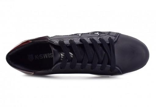 K-SWISS 9F134 102 BLACK SILVER STELAR  22-27