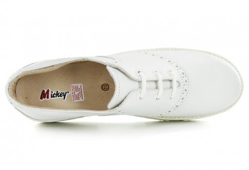 MICKEY N 415- 91 FLOR ENTERA BLANCO  (14.5 - 18.0)