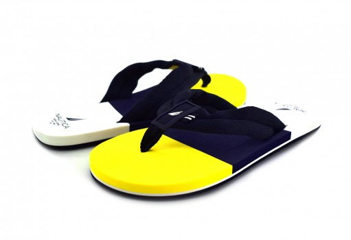 NAUTICA UA6602 NAVY/YELLOW GULIK  25-30