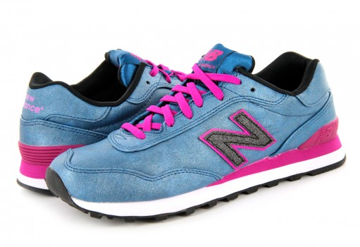 NEW BALANCE WL 515 MBK BLUE/PINK RETRO  23-27
