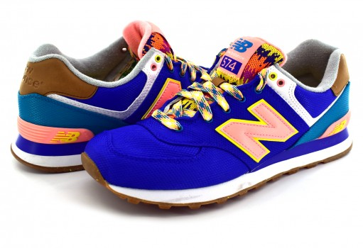 NEW BALANCE WL 574 EXA PACIFIC RETRO  23-27