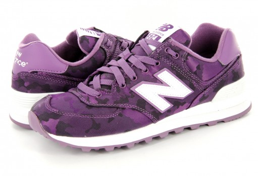 NEW BALANCE WL 574 MWA PURPLE RETRO  23-27