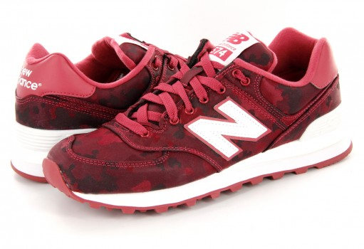 NEW BALANCE WL 574 MWC RED RETRO  23-27