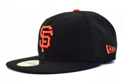 NEW ERA 10 623235 331940 SAFGIA MLB BLACK/ORANGE MX ACPERF GM  55-62