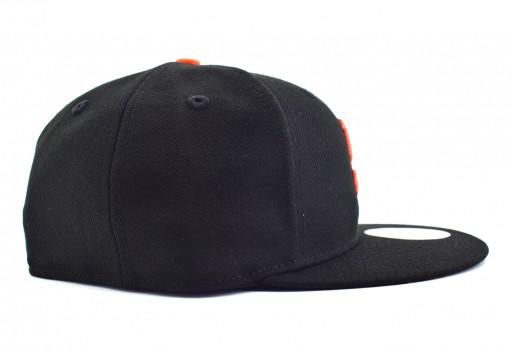NEW ERA 10 623235 331940 SAFGIA MLB BLACK/ORANGE MX ACPERF GM  55-62