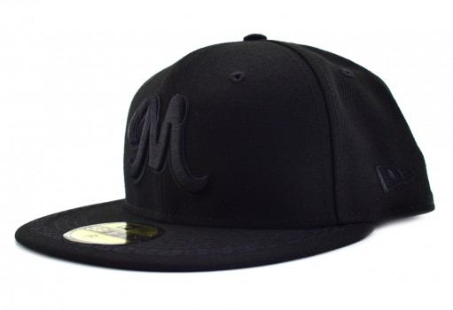 NEW ERA 11 592469 11 BLACK SERIE DEL CARIBE MEX  55-62